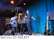 """Купить «Концерт джаз-банды """"Невелик Оркестр"""" """"Nevelique Orchestre""""», фото № 27163417, снято 18 января 2019 г. (c) Евгений Ткачёв / Фотобанк Лори"""