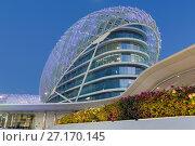 Купить «Yas Marina Hotel, Yas Island, Abu Dhabi, United Arab Emirates, Middle East», фото № 27170145, снято 8 декабря 2016 г. (c) age Fotostock / Фотобанк Лори