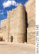 Купить «Девичья башня. Стены старой крепости. Баку. Азербайджан», фото № 27180145, снято 23 сентября 2015 г. (c) Евгений Ткачёв / Фотобанк Лори