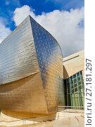 Купить «Guggenheim Museum, Bilbao, Bizkaia, Basque Country, Spain, Europe», фото № 27181297, снято 18 августа 2017 г. (c) age Fotostock / Фотобанк Лори