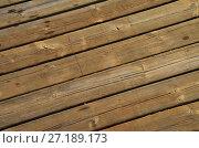 Brown wood plank texture background. Стоковое фото, фотограф Анфимов Леонид / Фотобанк Лори