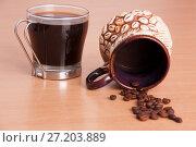 Aroma coffee grains. Стоковое фото, фотограф Гужва / Фотобанк Лори