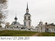 Купить «Церковь Александра и Антонины в Селище, Кострома», фото № 27209201, снято 8 мая 2017 г. (c) Юлия Бабкина / Фотобанк Лори