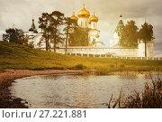 Купить «Male Ipatievsky Monastery at cloudy day in Kostroma, Russia», фото № 27221881, снято 28 августа 2016 г. (c) Яков Филимонов / Фотобанк Лори