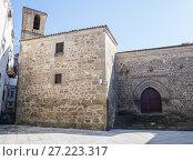 Купить «Iglesia de San Martín. Plasencia. Cáceres. Extremadura. Spain.», фото № 27223317, снято 19 марта 2017 г. (c) age Fotostock / Фотобанк Лори