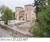 Купить «Museo arqueológico provincial o Palacio de los duques de Feria. City of Badajoz. Extremadura. Spain.», фото № 27223497, снято 20 марта 2017 г. (c) age Fotostock / Фотобанк Лори