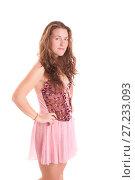 Купить «Girl in a pink negligee», фото № 27233093, снято 10 ноября 2011 г. (c) Argument / Фотобанк Лори