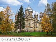 Купить «Сретенская церковь в Вытегре», фото № 27243037, снято 16 сентября 2012 г. (c) Александр Романов / Фотобанк Лори
