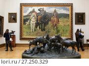 Купить «Третьяковская галерея. Москва», эксклюзивное фото № 27250329, снято 25 ноября 2017 г. (c) Яна Королёва / Фотобанк Лори