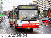 Купить «Irisbus Citybus 12M», фото № 27269509, снято 21 июля 2014 г. (c) Art Konovalov / Фотобанк Лори