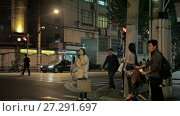 Купить «Chinese city of Shanghai», видеоролик № 27291697, снято 13 декабря 2017 г. (c) Балдина Алиса / Фотобанк Лори