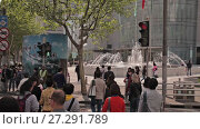 Купить «Chinese city of Shanghai», видеоролик № 27291789, снято 3 декабря 2017 г. (c) Балдина Алиса / Фотобанк Лори