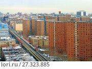 Купить «Broadway, Upper Manhattan and 125th Street Subway Station. Нью-Йорк, США», фото № 27323885, снято 16 декабря 2017 г. (c) Валерия Попова / Фотобанк Лори