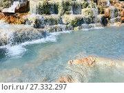 Natural spa Saturnia thermal baths, Italy (2017 год). Стоковое фото, фотограф Юрий Брыкайло / Фотобанк Лори