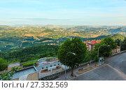 Купить «View from San Marino hills», фото № 27332569, снято 4 июня 2017 г. (c) Юрий Брыкайло / Фотобанк Лори