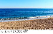 Купить «Sandy azure beach, Calabria, Italy», фото № 27333601, снято 19 июня 2017 г. (c) Юрий Брыкайло / Фотобанк Лори