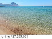 Купить «Bue Marino Beach, Macari, Sicily, Italy», фото № 27335661, снято 16 июня 2017 г. (c) Юрий Брыкайло / Фотобанк Лори