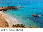 Купить «Bue Marino Beach, Macari, Sicily, Italy», фото № 27341461, снято 16 июня 2017 г. (c) Юрий Брыкайло / Фотобанк Лори