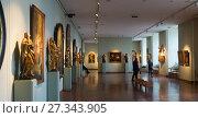 Купить «Hungarian National Gallery in Buda Castle», фото № 27343905, снято 29 октября 2017 г. (c) Яков Филимонов / Фотобанк Лори