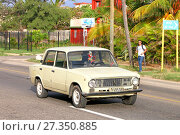 Купить «Lada 2101», фото № 27350885, снято 6 июня 2017 г. (c) Art Konovalov / Фотобанк Лори