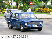 Купить «Lada 2101», фото № 27350889, снято 6 июня 2017 г. (c) Art Konovalov / Фотобанк Лори