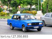 Купить «Lada 2107 (ВАЗ-2107 «Жигули»)», фото № 27350893, снято 6 июня 2017 г. (c) Art Konovalov / Фотобанк Лори