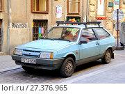 Купить «ВАЗ-2108 «Спутник»», фото № 27376965, снято 23 июля 2014 г. (c) Art Konovalov / Фотобанк Лори