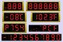 Купить «Electronic scoreboard clock and thermometer», иллюстрация № 27377269 (c) Сергей Антипенков / Фотобанк Лори