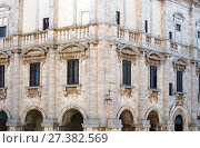 Купить «Montepulciano Palazzo Tarugi, Tuscany, Italy», фото № 27382569, снято 23 июня 2017 г. (c) Юрий Брыкайло / Фотобанк Лори