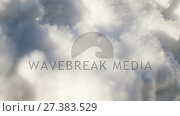 Купить «Shiny snow during winter 4k», видеоролик № 27383529, снято 26 июня 2019 г. (c) Wavebreak Media / Фотобанк Лори