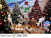 Купить ««Иней» — это отечественное предприятие по производству стеклянных елочных украшений. Музей елочной игрушки», эксклюзивное фото № 27388589, снято 28 декабря 2016 г. (c) Инна Козырина (Трепоухова) / Фотобанк Лори