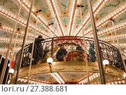 Купить «Новогодняя и рождественская ярмарка в Москве. Карусели», фото № 27388681, снято 13 января 2018 г. (c) Victoria Demidova / Фотобанк Лори