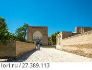 "Купить «Necropolis Chor-Bakr, or ""city of the dead"" in Bukhara», фото № 27389113, снято 20 августа 2016 г. (c) Валерий Смирнов / Фотобанк Лори"