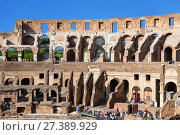 Купить «Вид на Колизей в Риме, Италия», фото № 27389929, снято 9 сентября 2017 г. (c) Наталья Волкова / Фотобанк Лори