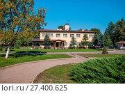 Купить «Holiday resort in Funka, Pomeranian Voivodeship. Poland», фото № 27400625, снято 21 июля 2019 г. (c) age Fotostock / Фотобанк Лори