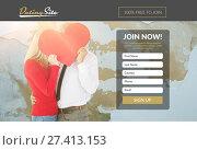 Купить «Subscription form on dating site », фото № 27413153, снято 17 декабря 2018 г. (c) Wavebreak Media / Фотобанк Лори