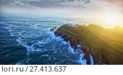 sea and greenery. Стоковое фото, агентство Wavebreak Media / Фотобанк Лори