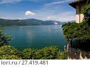 Купить «Hermitage Santa Caterina del Sasso, Eremo Santa Caterina del Sasso, Varese province, Lombardy, Italy», фото № 27419481, снято 1 июля 2011 г. (c) age Fotostock / Фотобанк Лори
