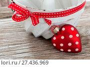 Купить «Backen mit Liebe», фото № 27436969, снято 24 января 2018 г. (c) easy Fotostock / Фотобанк Лори