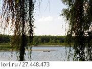 Купить «Po river, Mantova province, Lombardy, Italy», фото № 27448473, снято 30 августа 2010 г. (c) age Fotostock / Фотобанк Лори