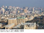 Купить «Солнечное декабрьское утро над современным Баку. Азербайджан», фото № 27468189, снято 29 декабря 2017 г. (c) Виктор Карасев / Фотобанк Лори