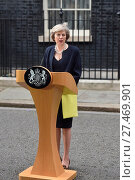 Купить «David Cameron resigns as Theresa May is appointed new Prime Minister at 10 Downing Street Featuring: Theresa May Where: London, United Kingdom When: 13 Jul 2016 Credit: WENN.com», фото № 27469901, снято 13 июля 2016 г. (c) age Fotostock / Фотобанк Лори