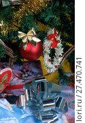 Купить «Christmas ornaments», фото № 27470741, снято 4 января 2018 г. (c) age Fotostock / Фотобанк Лори