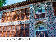 Sheki Xan Sarayi, palace of sheki Khans. Стоковое фото, фотограф Zoonar/A.Flašker / age Fotostock / Фотобанк Лори