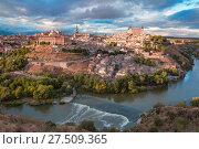 Купить «Toledo, Castilla La Mancha, Spain», фото № 27509365, снято 28 марта 2020 г. (c) Коваленкова Ольга / Фотобанк Лори