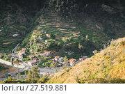Serra de Agua. Mountain landscape of Madeira (2017 год). Стоковое фото, фотограф EugeneSergeev / Фотобанк Лори