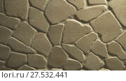 Купить «Background of stone wall stock footage video», видеоролик № 27532441, снято 14 января 2018 г. (c) Юлия Машкова / Фотобанк Лори