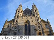 Купить «Saint Stephen Cathedral in Vienna, Austria», фото № 27539081, снято 4 ноября 2016 г. (c) Anton Eine / Фотобанк Лори