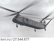 Вертолёт продольной схемы Як-24 разработки ОКБ Яковлева. Стоковое фото, фотограф Retro / Фотобанк Лори
