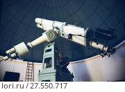 Купить «professional telescope», фото № 27550717, снято 17 апреля 2016 г. (c) Яков Филимонов / Фотобанк Лори